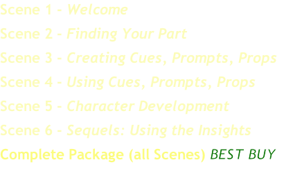 Scene 1 - Welcome
